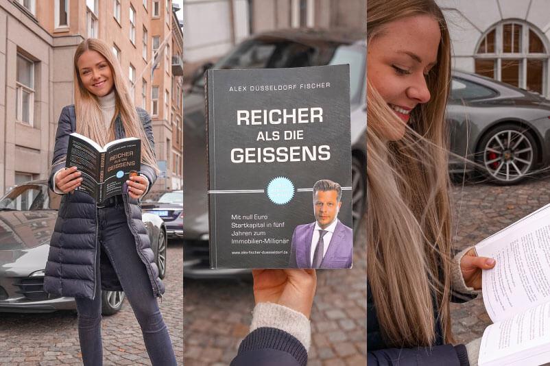 Du suchst nach einem guten Finanzbuch? Dann mach' lieber einen Bogen um Alex Düsseldorf Fischer. Es gibt deutlich bessere Finanz- und Mindset-Bücher!
