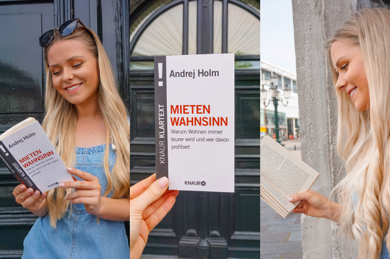 Steigende Mieten in den Städten wie Berlin, Initiativen, die auf die Barrikaden gehen, Mietpreisbremse und Mietendeckel. Linke Politik.