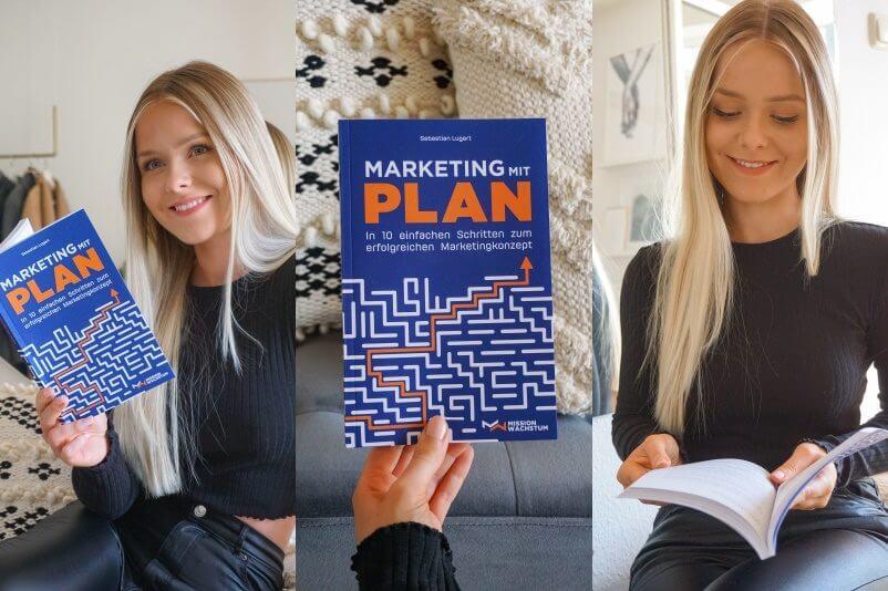 Ein Einsteigerbuch zum Thema Marketing für Selbständige, klein- und mittelständische Unternehmen und Start-Ups. Marketingkonzept entwickeln.