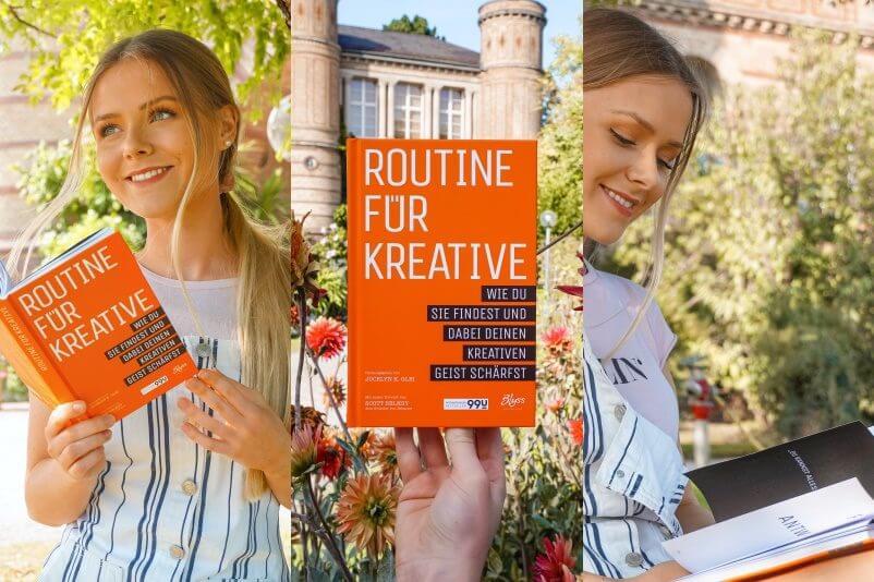 Tipps und Tricks für kreative Köpfe Designer Visionäre und Co. Buchtipp zur Gründung Selbstständigkeit Produktivität und Effektivität