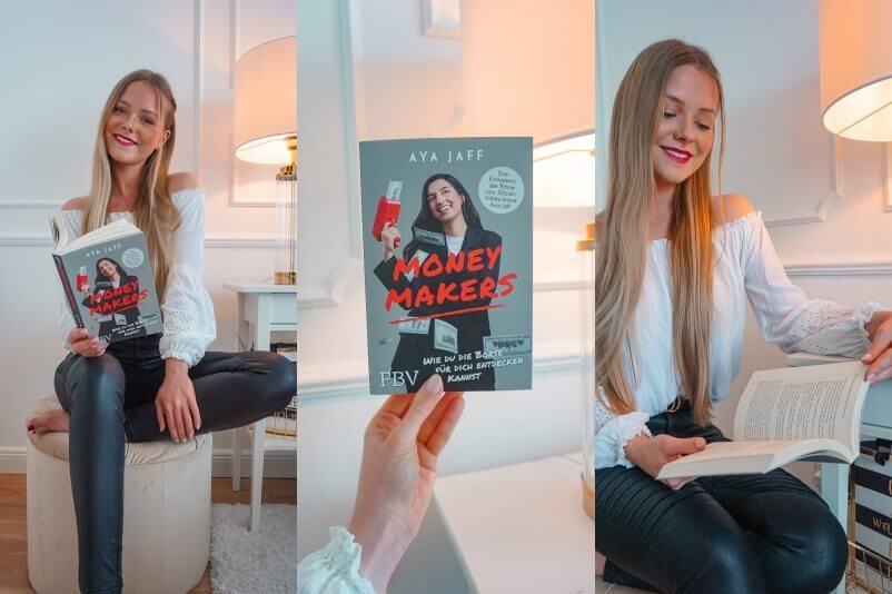 Vielleicht nicht das allerbeste Finanzbuch zum Einstieg, aber eine spannende Persönlichkeit ist Aya Jaff, für die selbst Frank Thelen lobt.