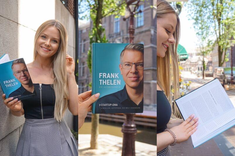 Für mich eine der spannendsten Biografien über eine deutsche Persönlichkeit. Der Gründergeist des Investors und Visionärs Frank Thelen.